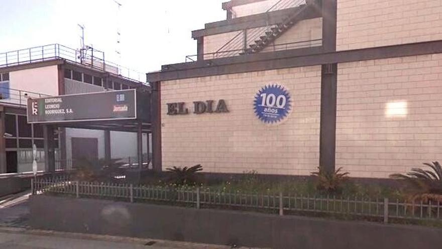 Sede del periódico El Día, en la calle Buenos Aires de Santa Cruz de Tenerife, donde también se grababa El Día Televisión.