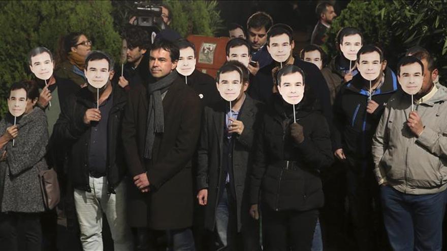 Protesta de UPyD ante el debate a cuatro