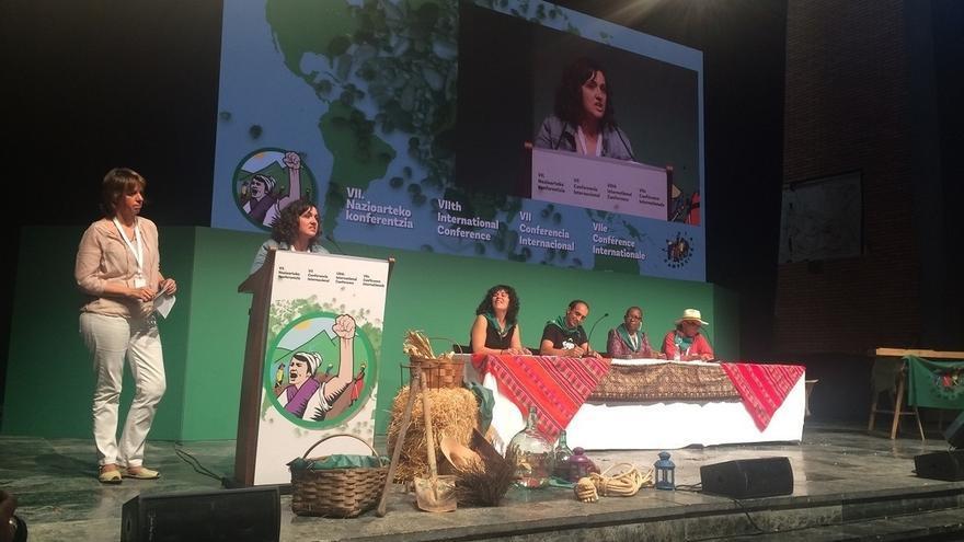 Medio millar de organizaciones agrarias de 73 países celebran en Bizkaia la VII Conferencia Internacional Vía Campesina