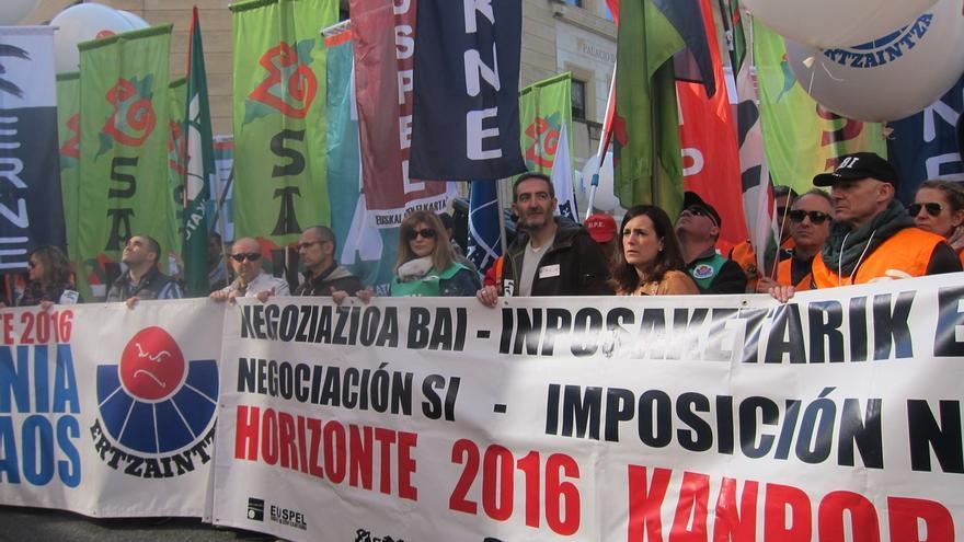 """Sindicatos de Ertzaintza piden a Gobierno vasco una negociación """"real y sin imposiciones para recuperar sus derechos"""""""