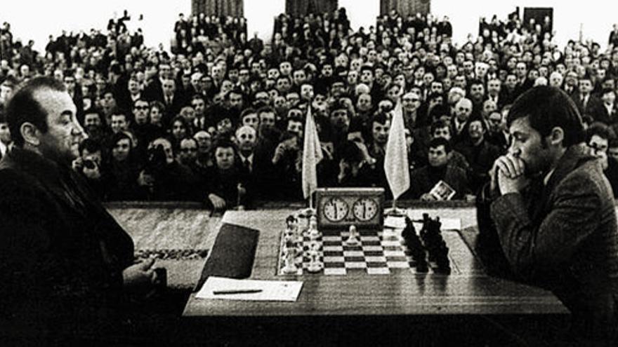 Víktor Korchnói y Anatoly Karpov, 1978