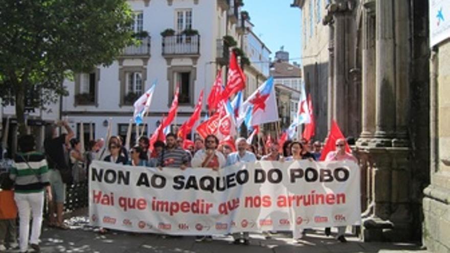 Concentración De Santiago De Compostela