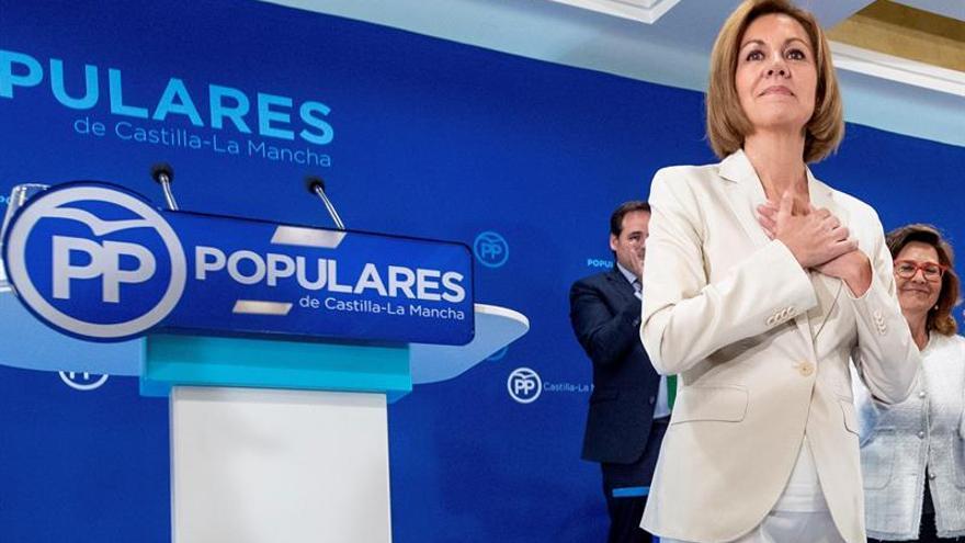 Cospedal responde a Feijóo que se presenta a presidir el PP para cuatro años