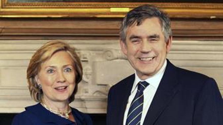 Clinton y Brown