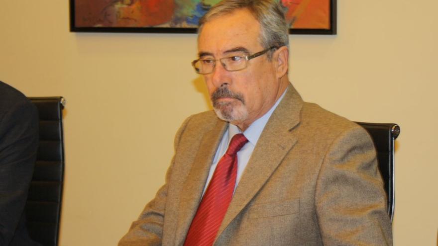 El cabeza de lista de UPyD al Congreso por la Región de Murcia, José Antonio Sotomayor