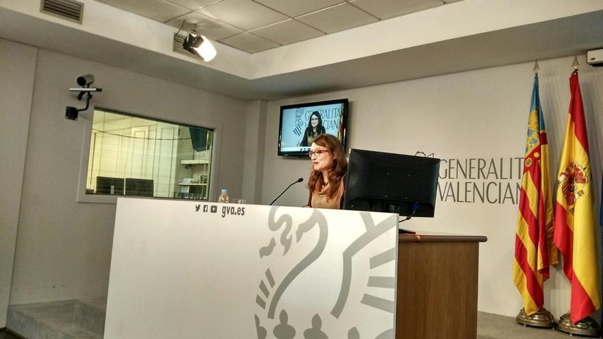 """Oltra asegura que """"no por esperado es menos dramático"""" que no haya ningún valenciano en el Gobierno"""