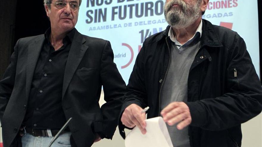 Méndez anuncia la dimisión del líder de UGT Madrid por el uso de la tarjeta de Caja Madrid