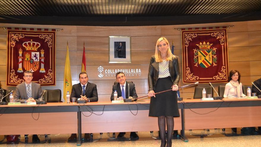 """Alcaldesa de Collado Villalba (Madrid) no se sintió """"humillada"""" con el examen del PP aunque reconoce que es """"incómodo"""""""