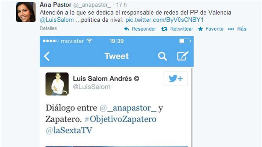 Tuit de Luis Salom