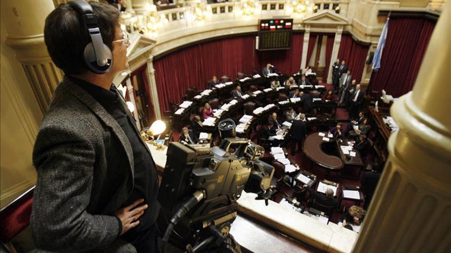Desalojan dos salones del Senado de Argentina por amenaza de bomba