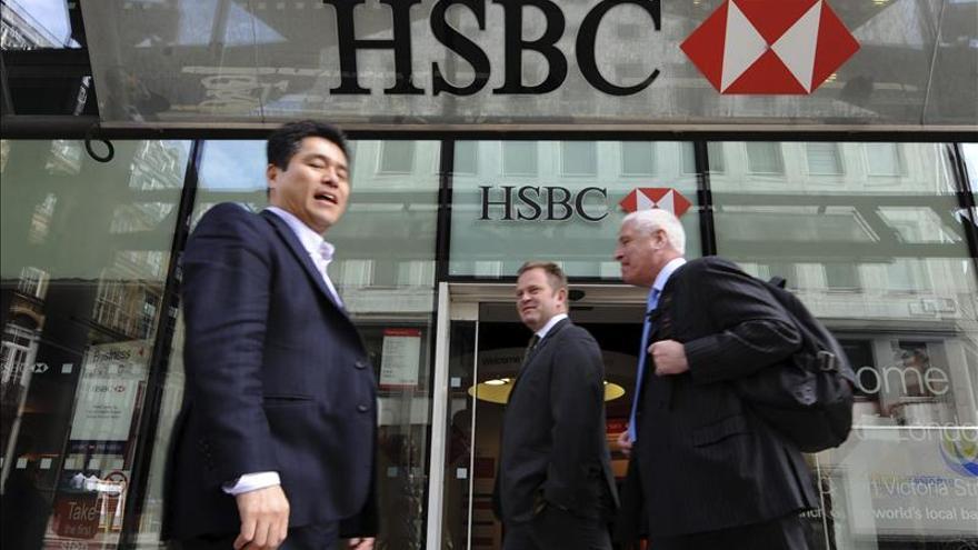 HSBC tuvo un beneficio neto de 6.353 millones de dólares en el primer trimestre