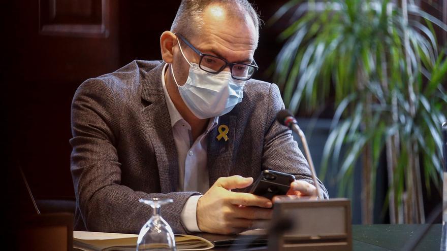 El vicepresidente del Parlament participó en una reunión de independentistas junto a un partido de extrema derecha