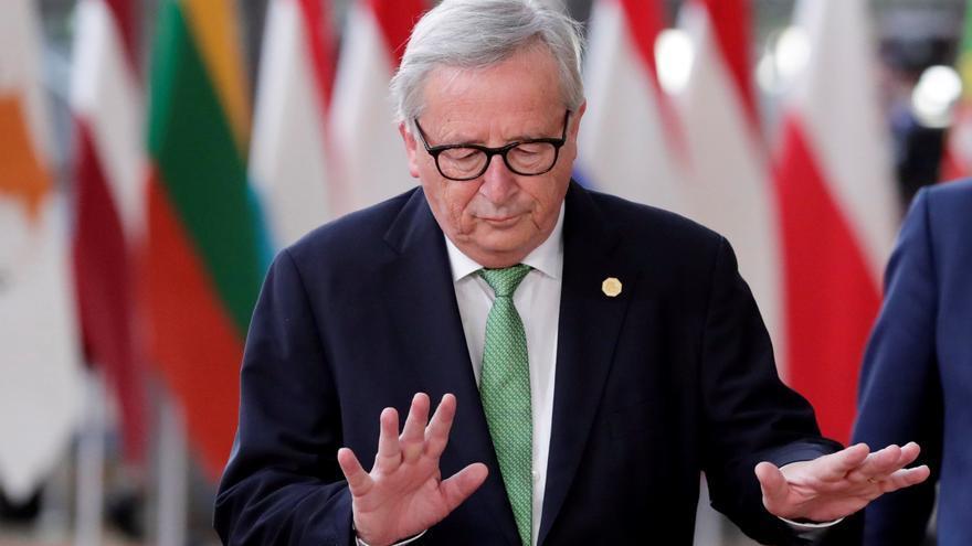 El presidente de la Comisión Europea, Jean-Claude Juncker, en Bruselas.