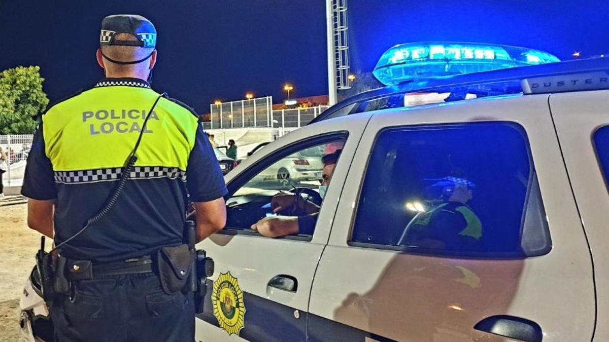 Agentes de la Policía Local de Elda.