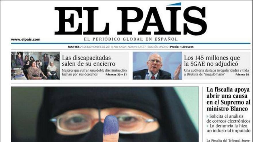 De las portadas del día (29/11/2011) #5