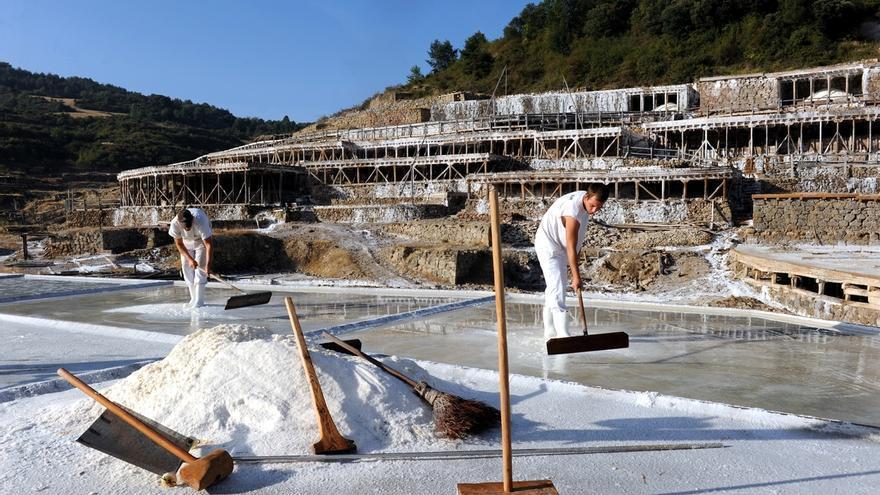 Gobierno central presenta la candidatura del Valle Salado de Añana (Álava) como patrimonio agrícola mundial