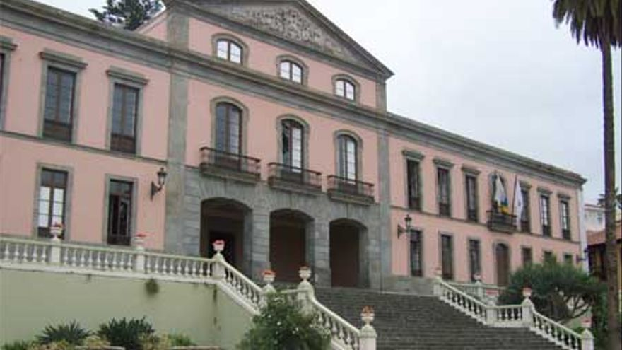 Ayuntamiento de La Orotava, en una imagen de archivo