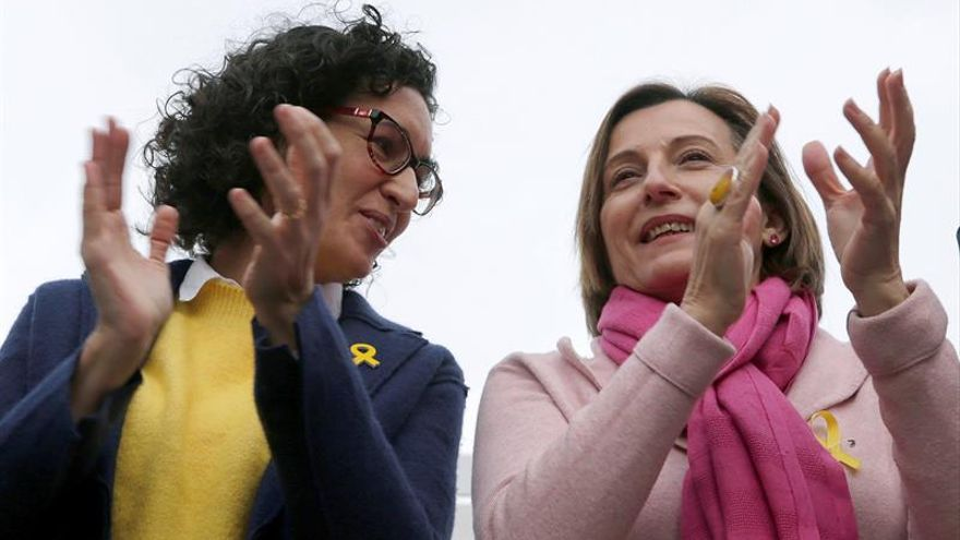 "Forcadell aparece en campaña apelando al voto útil para ""vencer al 155"""