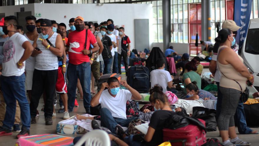 Más de mil migrantes entraron a Panamá en los dos últimos meses