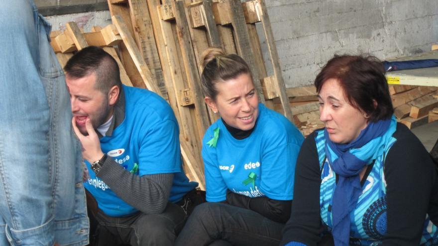 Trabajadores de Edesa cumplen su cuarto día de encierro a la espera de la decisión sobre su futuro