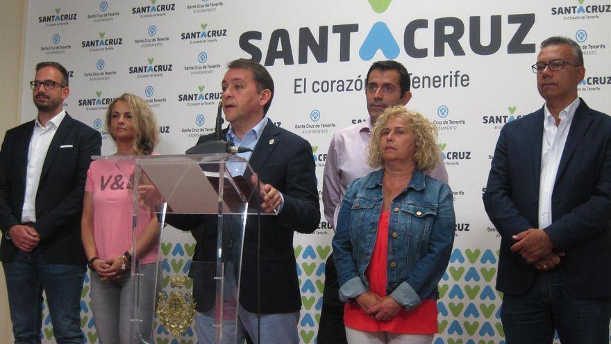 """A Coalición Canaria """"no le incomoda"""" recuperar la Alcaldía de Santa Cruz de Tenerife con una tránsfuga de Cs """"con ideas de ultraderecha"""""""