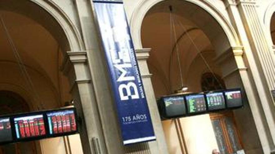 El Ibex 35 abre la sesión con una ligera caída del 0,26%