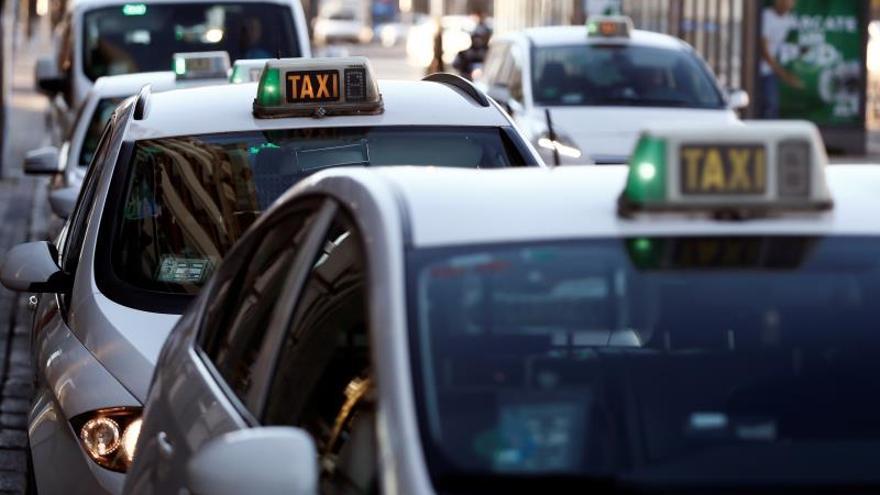 Las horas de huelga se disparan en el primer trimestre por el taxi y Cataluña