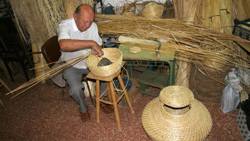 El artesano Juan Ramírez Junquero (Canarias Ahora)