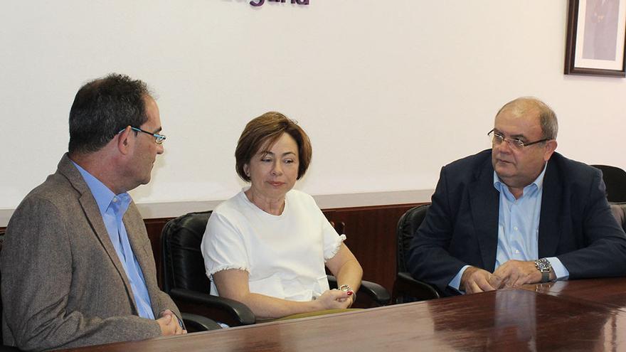 Encuentro con la rectora, Rosa Aguilar.