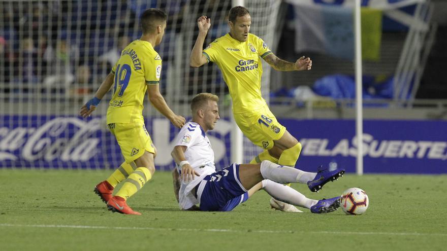 Imagen del último CD Tenerife-UD Las Palmas de mayo pasado.