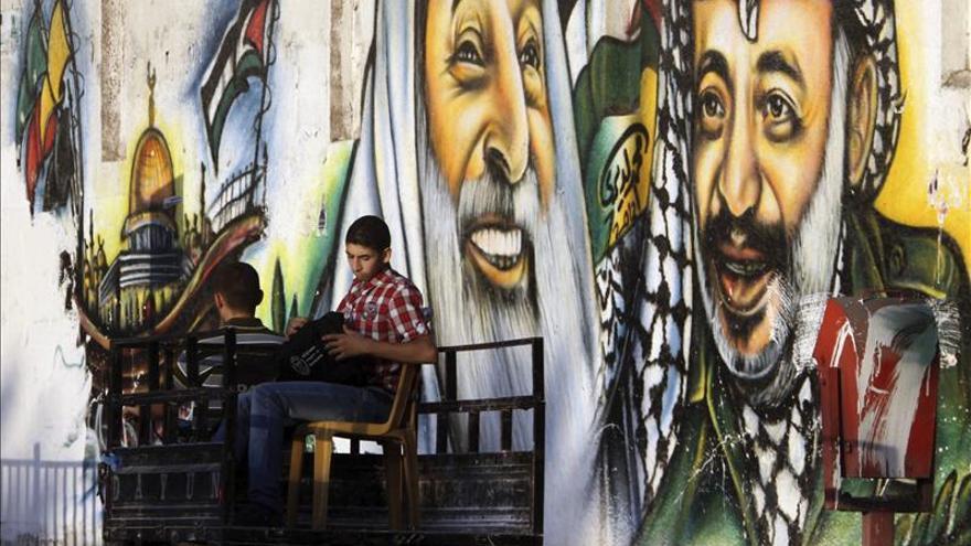 Los grafitis triunfan en Gaza como grito juvenil y reflejo del conflicto