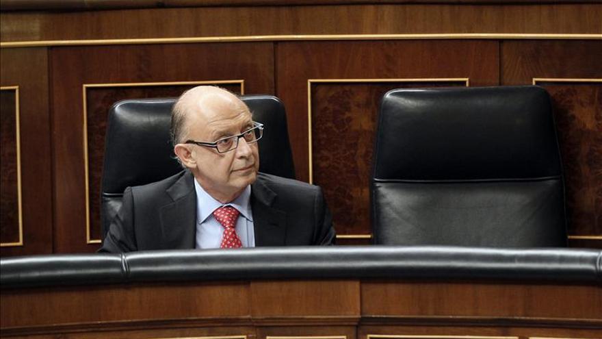 El ministro de Hacienda, Cristóbal Montoro. / Efe