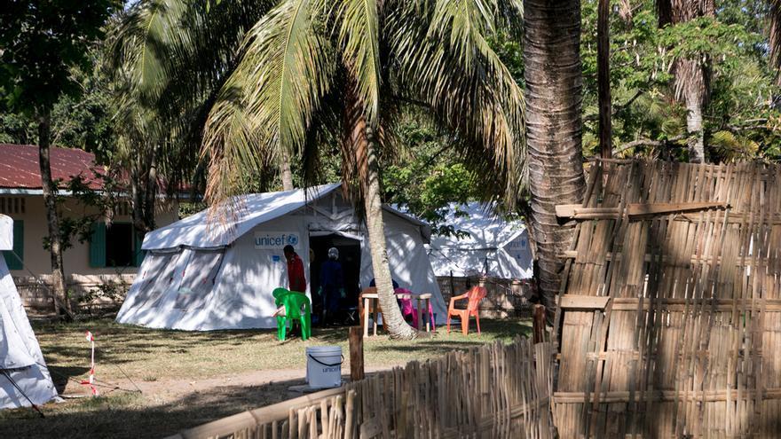 Centro de salud en Tamatave donde MSF apoya al Ministerio de Salud malgache en la respuesta de emergencia al brote de peste.