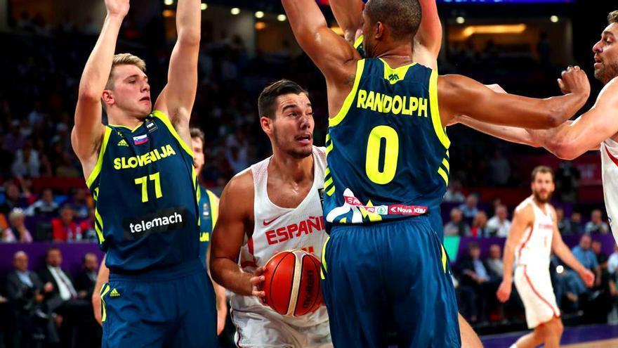España-Eslovenia en el Eurobasket 2017