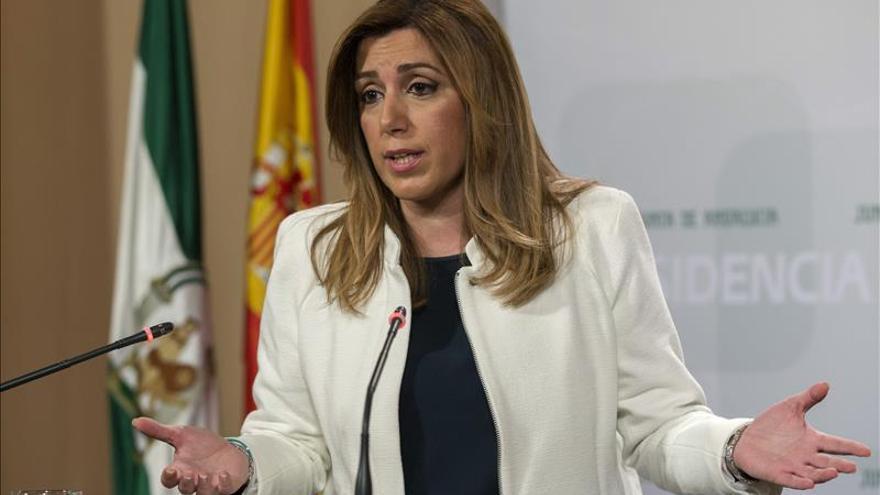 Críticas en el Congreso a Susana Díaz por ampliar el aforamiento a los exconsejeros