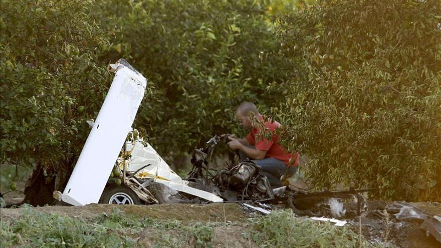 Mueren tres de los cuatro ocupantes de una avioneta estrellada en Mallorca