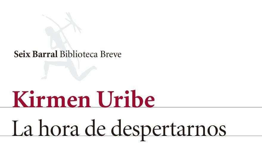 Portada de 'La hora de despertarnos juntos' de Kirmen Uribe.