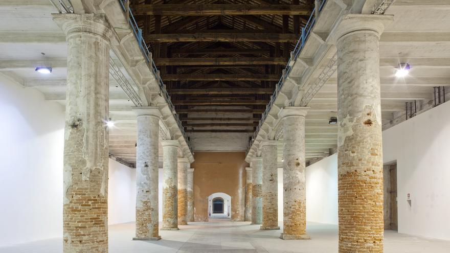 Vista de la Corderie, Biennale de Venecia