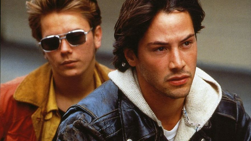 River Phoenix y Keanu Reeves en 'Mi Idaho privado' (1989)