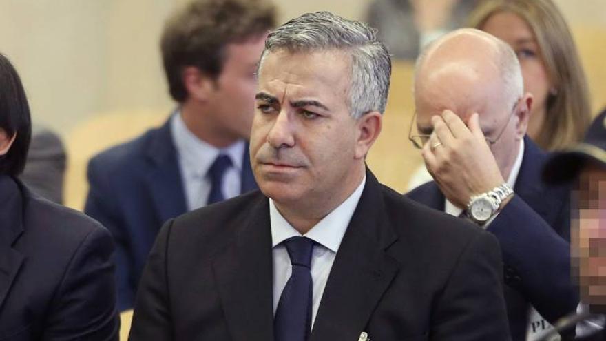 Ángel de Cabo, en su juicio ante la Audiencia Nacional.