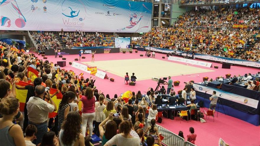 Mundial de gimnasia rítmica en Guadalajara