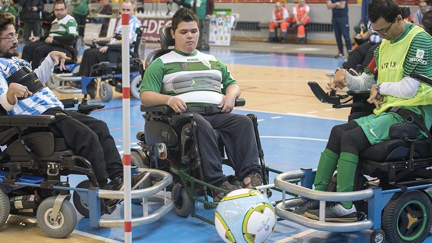 Torneo Nacional de football powerchair en Vista Alegre   TONI BLANCO