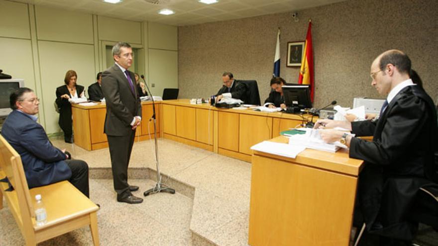 Carlos Sosa durante su declaración
