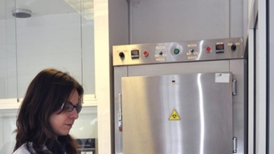 Investigadora En Laboratorio