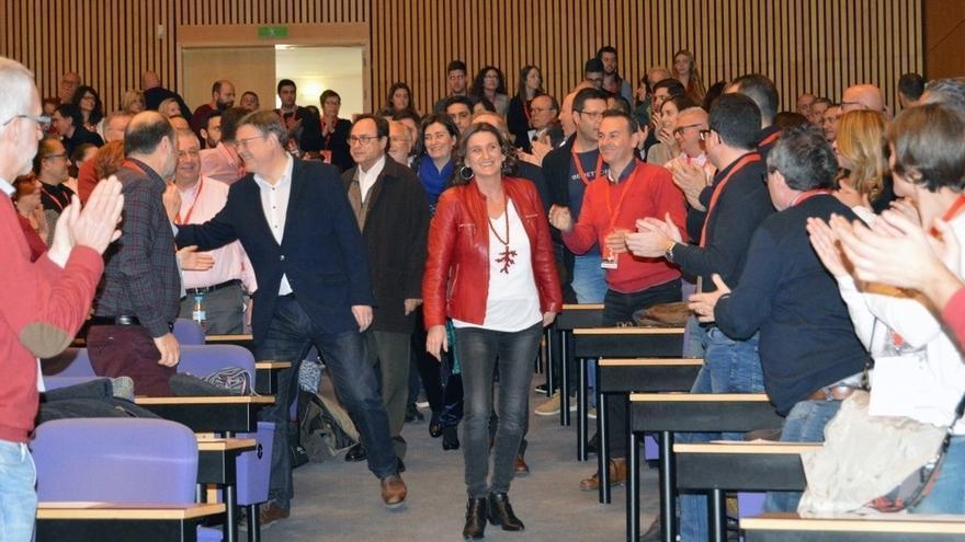 El PSPV de Valencia ratifica la Ejecutiva de Mercedes Caballero con el 81% de los votos