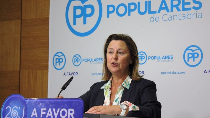 Ana Madrazo, portavoz del PP en la Comisión de Economía y Competitividad del Congreso