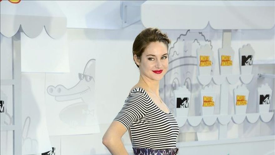 "Shailene Woodley y ""The Fault in Our Stars"" brillan en los MTV Movie Awards"