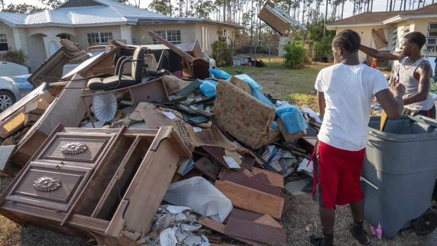 El huracán Dorian provocó a su paso por Bahamas daños por valor de 7.000 millones de dólares, según cifras preliminares de las autoridades bahameñas.