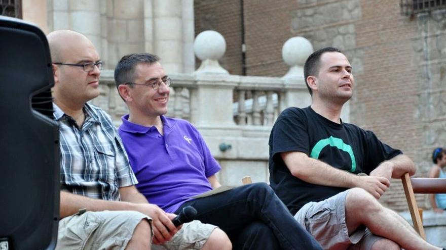 David Llorente y Juan Carlos Mondero. Foto: Podemos Toledo.