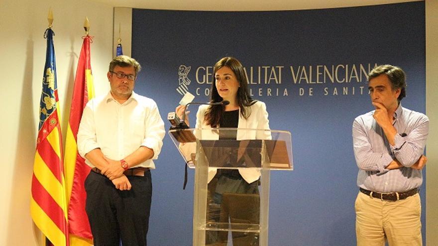 La consellera de Sanidad, Carmen Montón.